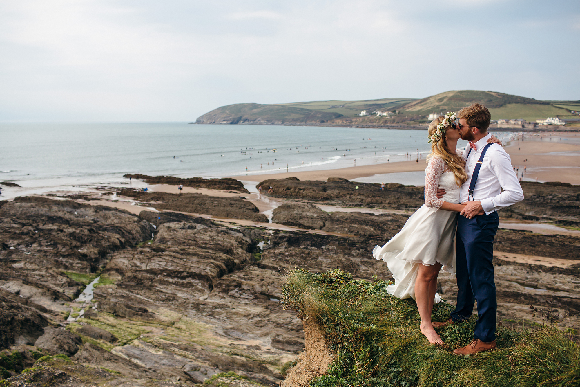 A Beachy Boho wedding in Croyde - Freckle Photography ...